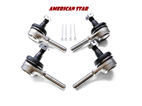 (American Star OEM Style Replacement Tie Rod Ends For Yamaha Blaster, Grizzly, Banshee, Kodiak, Wolverine, Big Bear, Raptor,)