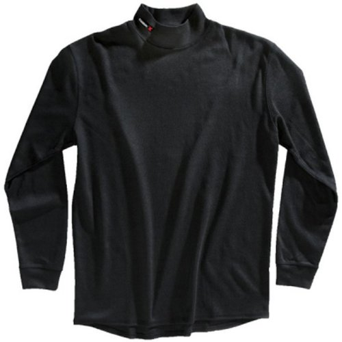 Black 2X-Large Bob Dale 96-1-9020-X2L CarbonX FR Knit Long Sleeve Shirt