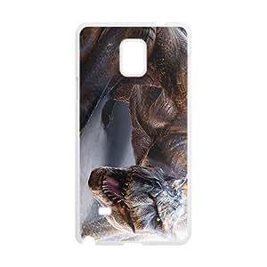 Scary Creative Dinosaur Custom Protective Hard Phone Cae For Samsung Galaxy Note4
