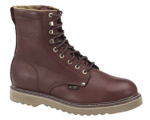 Adtec Mens Redwood 8in Farm Boots Full Grain Leather Plain Toe 11.5 M