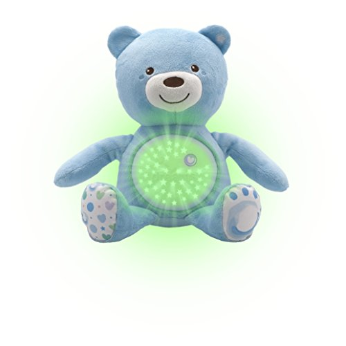 Chicco Baby Bear Doll Light Blue
