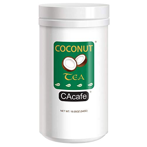 CAcafe Coconut Tea Great Green Natural Energy Drink 540g Jar, 19.05 Ounce