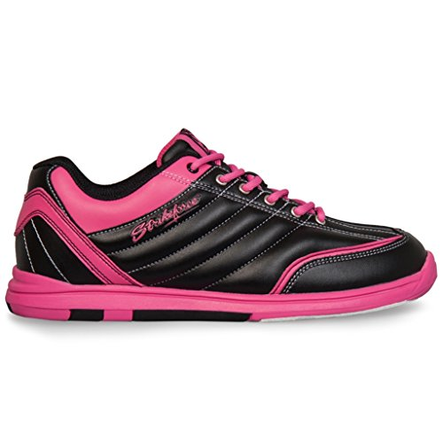 kr-strikeforce-ladies-diamond-bowling-shoes-6-m-us-black-hot-pink