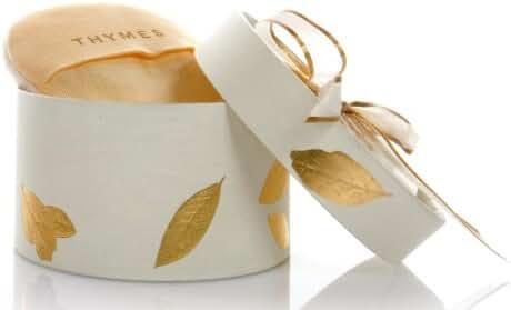 Thymes Dusting Powder, Goldleaf, 3-Ounce Box