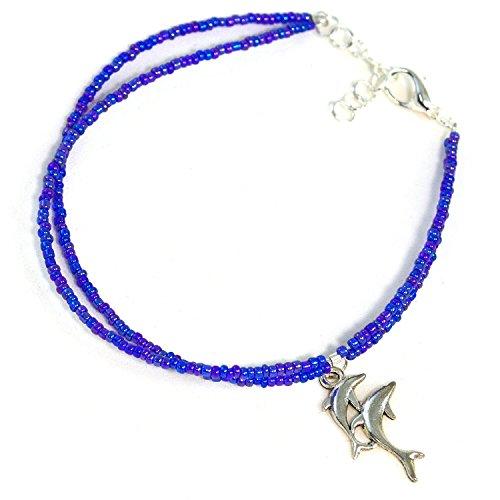 Glass Ankle Bracelet - 7