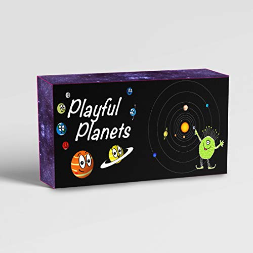 Playful Planets Classic Card Games for Kids and Families - Old Maid, Go Fish, Bingo, Memory with A Planetary Twist - Fun Packed Educational Space Game! 10 Games in 1 Fun Pack! (Best Little Big Planet Game)