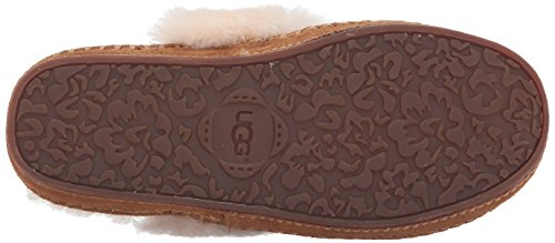 Ugg Womens Aira Tehuano Slip On Slipper Chestnut
