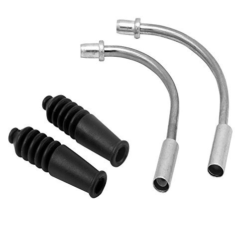 Joan Bike V Brake Noodle Cable Guide Pipe Rubber Boots Mountain Road Bicycle Cycling 2 Sets