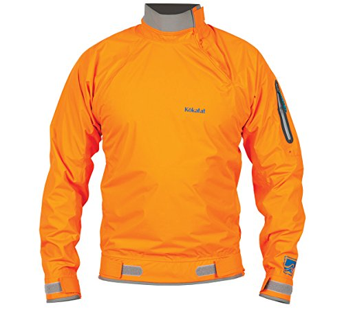 Kokatat Paddling Jacket (Kokatat Men's Hydrus Stance Paddling Jacket-Orange-L)