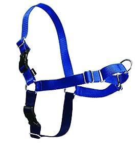 PetSafe Easy Walk Harness,  Medium/Large, ROYAL BLUE/NAVY BLUE for Dogs