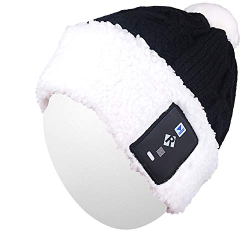 Qshell Lovely Kids Boys Girls LED Light Up Beanie Hat Knit Cap for Indoor  and Outdoor e71db41add89
