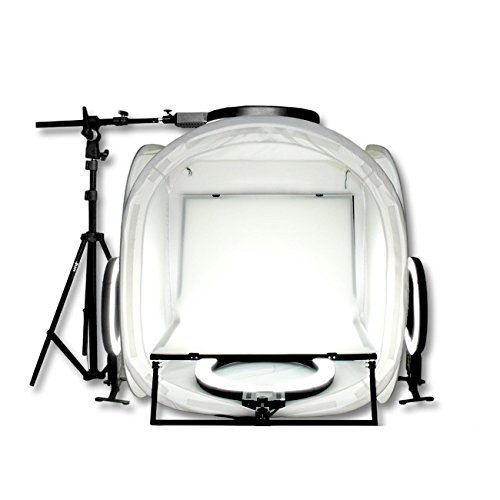 Digpro Compact - Digpro DP-80R4 Digpro DP-80R4 Mini Studio Light Tent System (White/Black) (white / Black)
