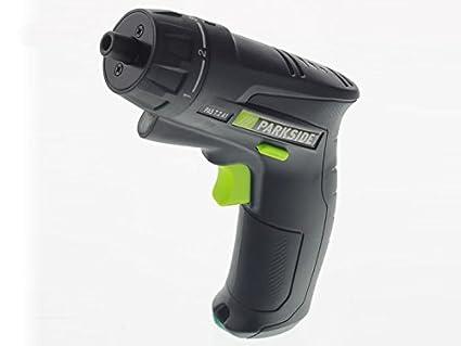 PARKSIDE batería-destornillador de impacto PAS 7,2 A1 black velvet ...