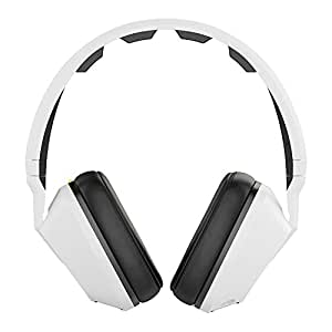 Skullcandy Crusher - Audífonos de diadema cerrados (con micrófono) blanco