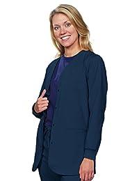NU DIMENSION BOGO Special. Women snap Front Stretch Scrub Lab Jacket/Coat
