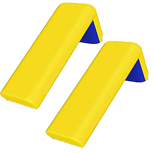 MRT SUPPLY Aqua Small Inflatable Kids Backyard Water Slide, Yellow (2 Pack) with Ebook