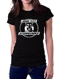 Steppenwolf Band John Kay Logo Women's T-Shirt