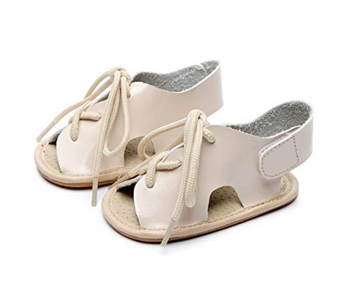 56848d08ce Amazon.com | HONGTEYA Baby Girl Sandals with Rubber Sole Barefoot ...