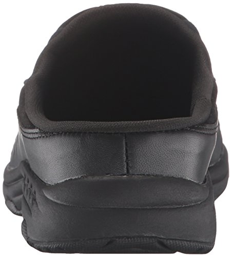 Easy Spirit Women's Traveltime Clog, Black/Black Leather, 8 W US by Easy Spirit (Image #2)