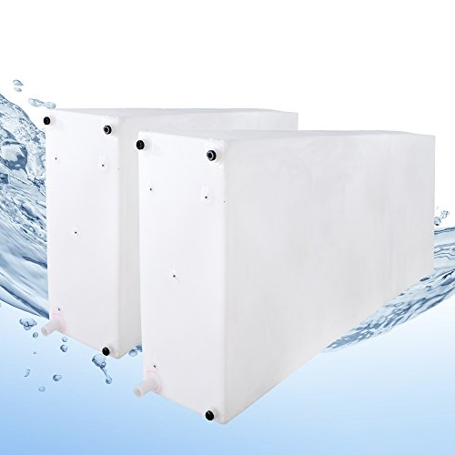 RecPro Fresh and Gray Water Holding Tank | Combo Pack | for RV and Campers (200 Gallon) BPA Free