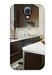New Cute Funny Glass Tile Backsplash Glass Hood Define Steel Contemporary Kitchen Case Cover/ Galaxy S4 Case Cover