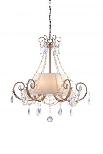 Artcraft Lighting Teardrop 6-Light Chandelier