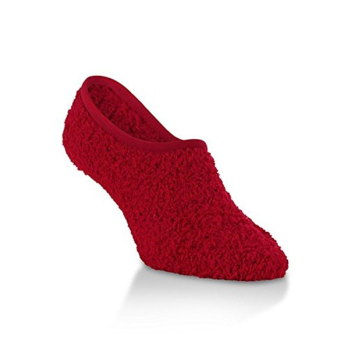 Women's Knit Dot Footsie Game Softest Candy Worlds Apply Red Polka Socks twqOnC