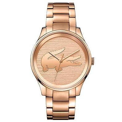 0151f76a396 Relógio Lacoste Feminino Aço Rosé - 2001015  Amazon.com.br  Amazon Moda