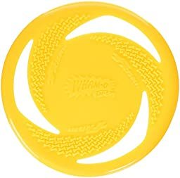 Wham-O Pets Soft Rubber with Non-toxic Velocity Grip Dog Frisbee, 8\