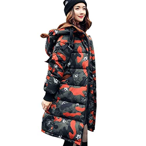 Inverno Cerniera Verde Frontali Ladies Cappotto Caldo Cappuccio Saoye Maniche Accogliente Piumino Manica Con Fashion Lungo Coats FwvnEZWt18