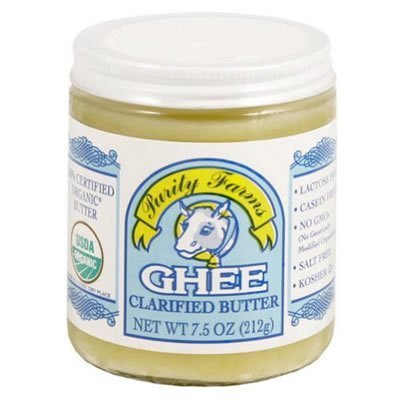 Organic Ghee Clarified Butter 7.50 Ounces (Case of 12) by Purity Farms by Purity Farms (Image #1)