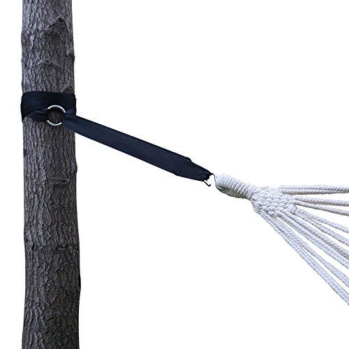 Songmics Befestigungs Set Aufhängeset für Hängematte max. 200 kg, Maße pro Band: 320 x 5 cm (LxB) GDC01P