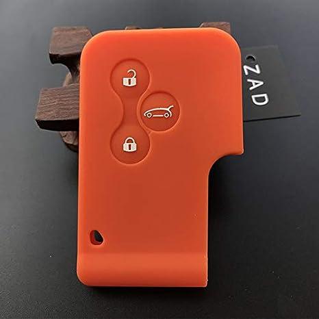 ZAD - Carcasa de silicona para llave de coche para Renault ...