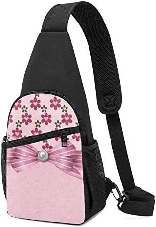 ボディ肩掛け 斜め掛け かわいい蝶結び ショルダーバッグ ワンショルダーバッグ メンズ 軽量 大容量 多機能レジャーバックパック