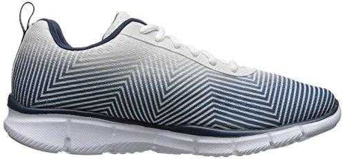 Skechers EqualizerGame Day Herren Sneakers White/Navy