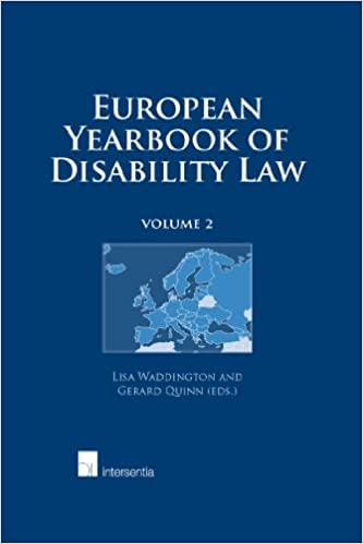 Book European Yearbook of Disability Law: 2