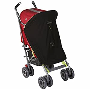 SnoozeShade Original - Breathable Stroller Baby Sunshade & Blackout Blind