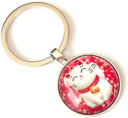 Maneki neko porte clé