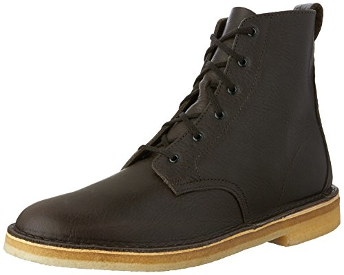 Clarks - Mens Desert Mali Low Boot, Size: 7.5 D(M) US, Color: Charcoal Leather