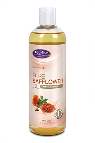 Safflower Oil Moisturizer (Life Flo Health, Pure Safflower Oil, Skin Care, 16 fl oz (473 ml) - 2pc)