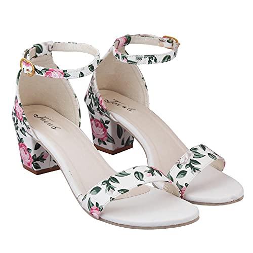 RESTAYEL Women Stylish Trending Fancy Block Heel Fashion sandal