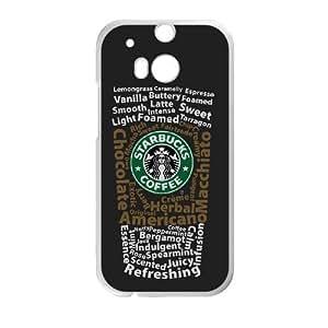 HTC One M8 Phone Case White Starbucks 4 PLU6209754