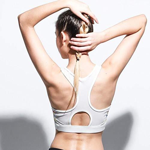 Rxy Reggiseni In Bra Black Size Donna Outdoor Intimo White Ring Running S Yoga Sportivi color Antiurto Acciaio No Sportivo rrndZ