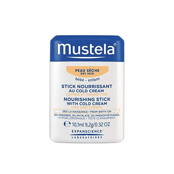 Mustela Stick Nutriente alla Cold Cream per Labbra e Guance - 9.2 g 1