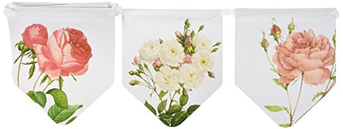 Talking Tables Blossom Floral Hanging Bunting Garland for a General Decoration, Multicolor ()