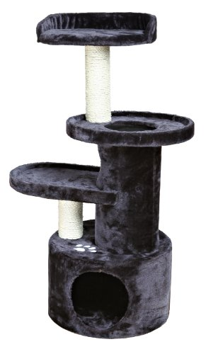 - TRIXIE Pet Products Oviedo Cat Tree, Dark Gray