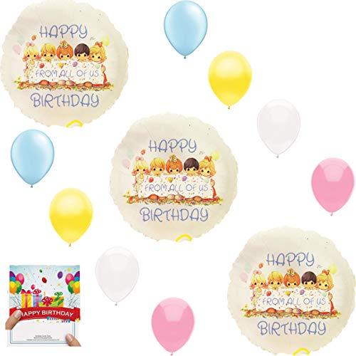 Precious Moments Party Supplies Balloon Decoration Bundle