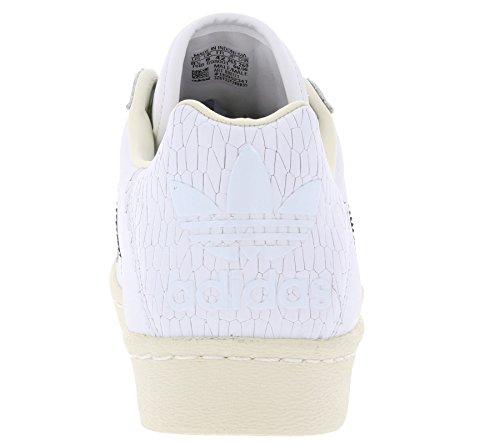 Ultrastar 40 Adidas Originals Bb0171 80s White Sneaker Taille 5OOgCqTwx