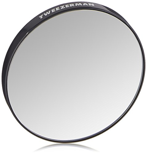 Tweezerman Tweezermate, 12x Magnification Personal Mirror, 1 Count