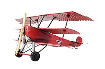 Old Modern Handicrafts 1917 Baron Fokker Triplane Collectible, Red